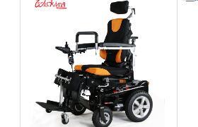 能站能坐能躺的电动轮椅