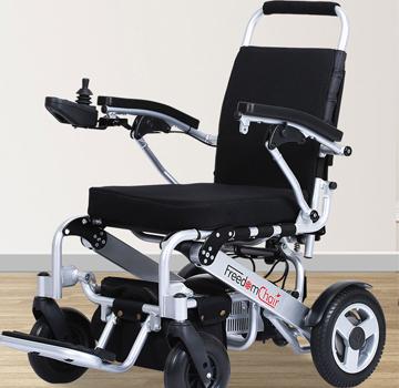 迈乐步A07款便携式折叠电动轮椅