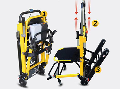 爬楼梯电动轮椅哪个品牌好?履带式爬楼梯轮椅