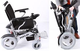 最轻最小折叠电动轮椅,轻便小巧电动轮椅为何最受欢迎